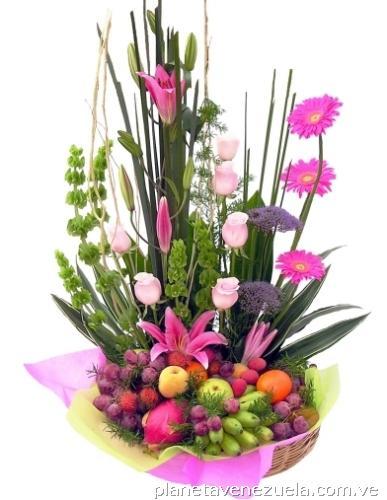 Arreglos Florales Con Frutas Flores Para Toda Ocasión